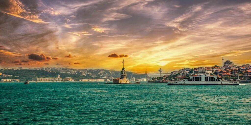 istanbul boğaz manzarası
