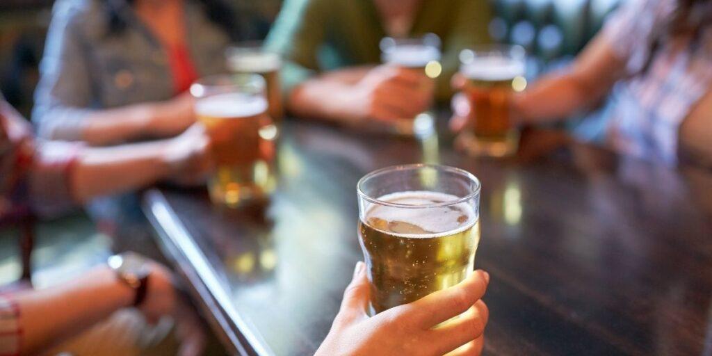 alcohol consumption table