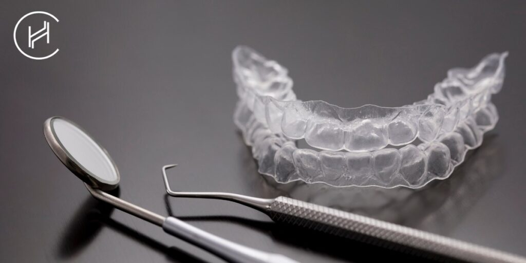 invisible dental braces and dentist equipment heva clinic